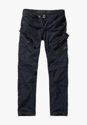 ACCESSOIRES ADVEN  - Cargo trousers - black