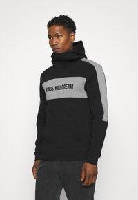 Kings Will Dream - CHAPMAN HOODIE - Sweatshirt - black/grey - 0