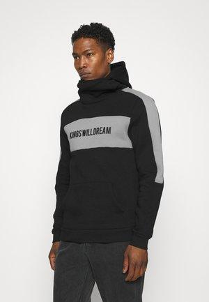 CHAPMAN HOODIE - Sweatshirt - black/grey
