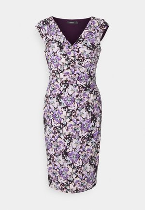 MATTE DRESS - Shift dress - raisin/purple