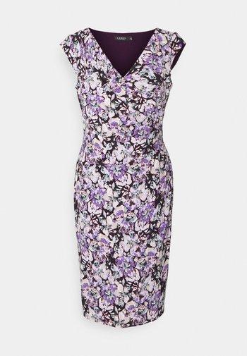 MATTE DRESS - Tubino - raisin/purple