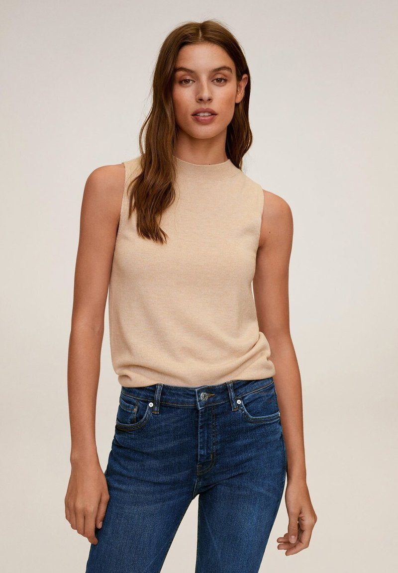 Mango SKINNY JEANS IN 7/8-LÄNGE ISA - Jeans Skinny Fit - dunkelblau 8GJjfW