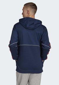 adidas Originals - OUTLINE HOODIE - Bluza z kapturem - blue - 1