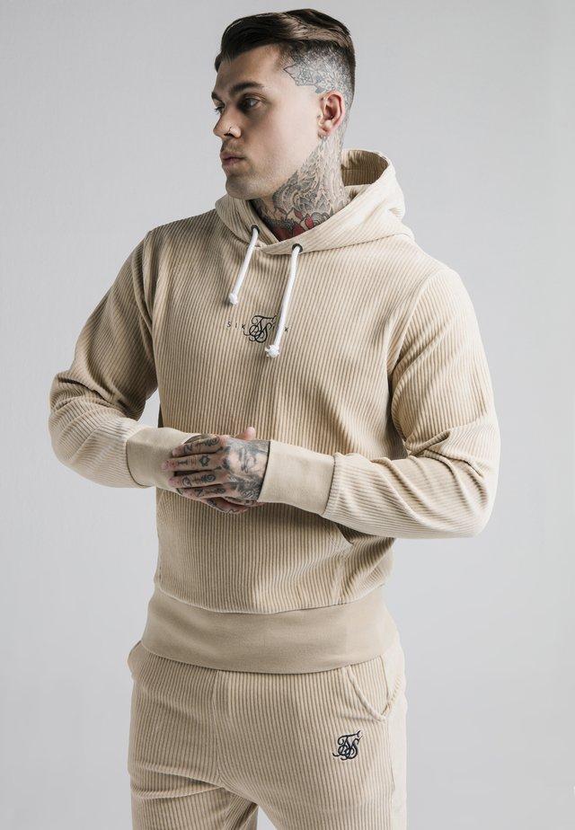 ALLURE OVERHEAD HOODIE - Bluza z kapturem - beige