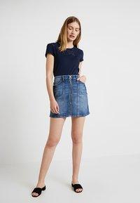 edc by Esprit - MINSKIRT - Denim skirt - blue medium wash - 1
