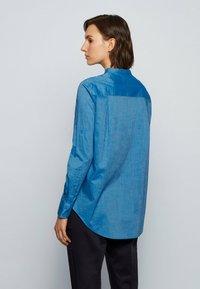 BOSS - BEFELIZE - Blouse - open blue - 2