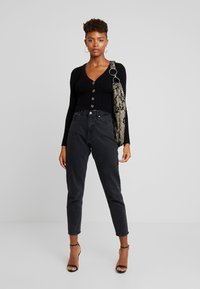 Nly by Nelly - CROPPED CARDIGAN - Cardigan - black - 1