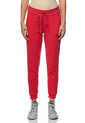 Tracksuit bottoms - ruby red