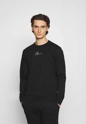 JORSCRIPTT CREW NECK - Sweatshirt - black
