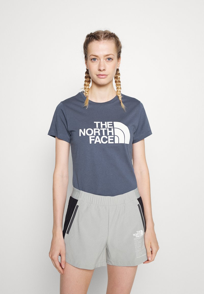 The North Face - EASY TEE - T-shirt con stampa - vintage indigo