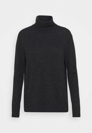WOOL & CASHMERE - Pullover - dark grey melange