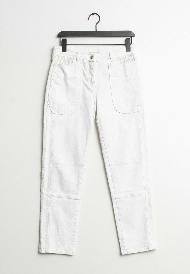 Slim fit jeans - white