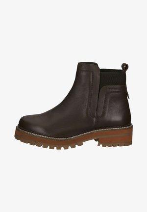 Korte laarzen - dunkelbraun