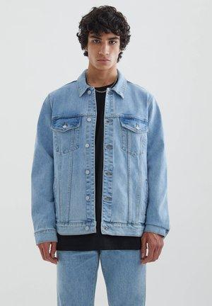 BASIC IM COMFORT - Džínová bunda - royal blue