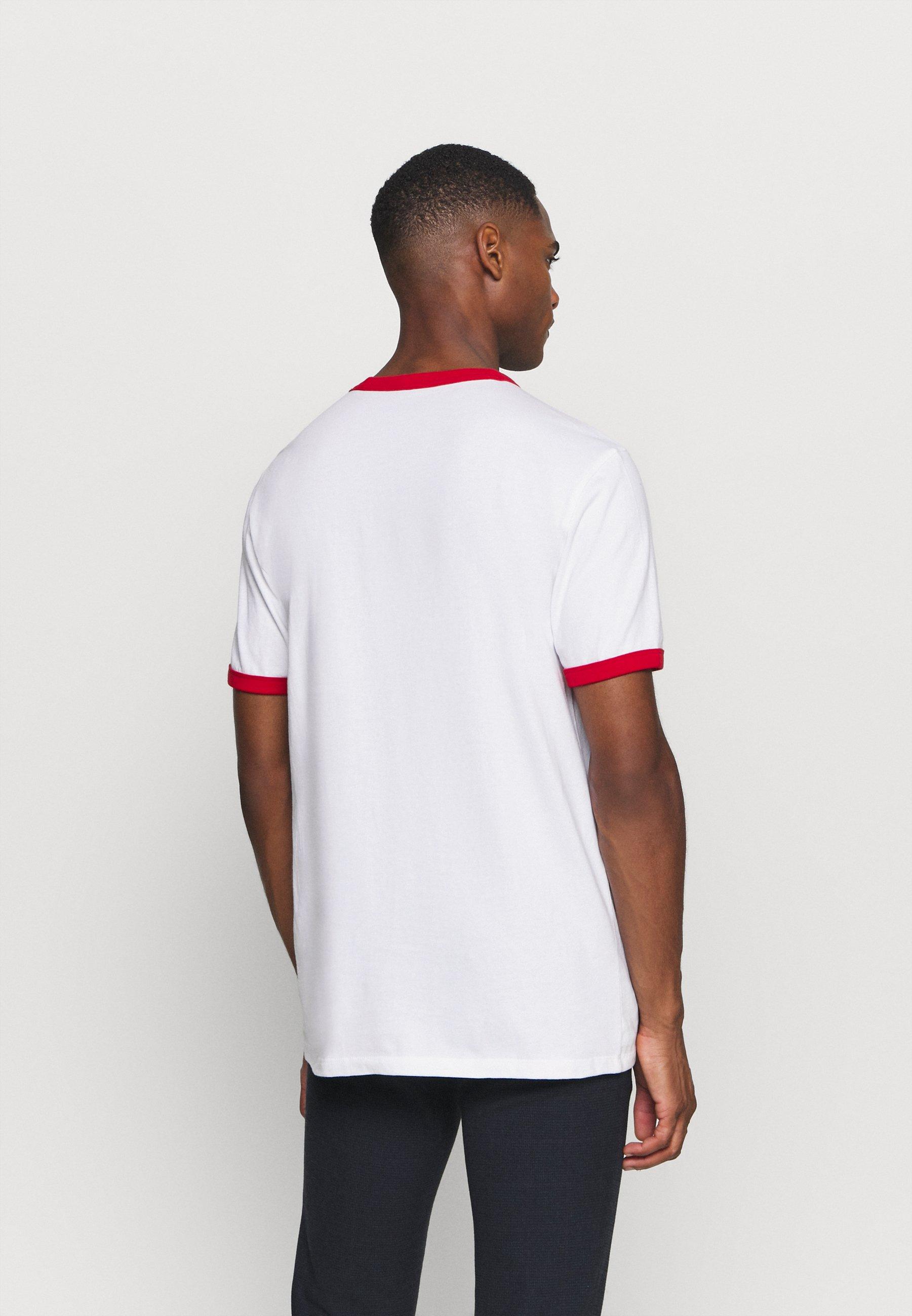 GAP LOGO RINGER  - Print T-shirt - optic white JkwQg
