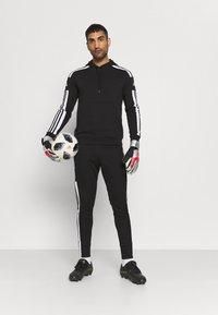 adidas Performance - SQUAD HOOD - Sweatshirt - black - 1