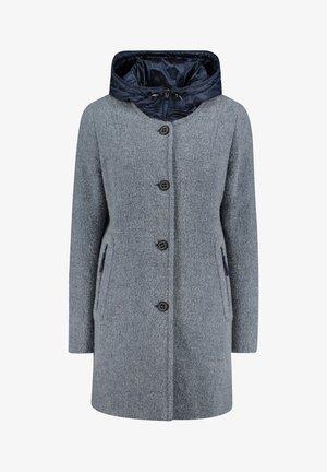 Classic coat - light turquiose melange