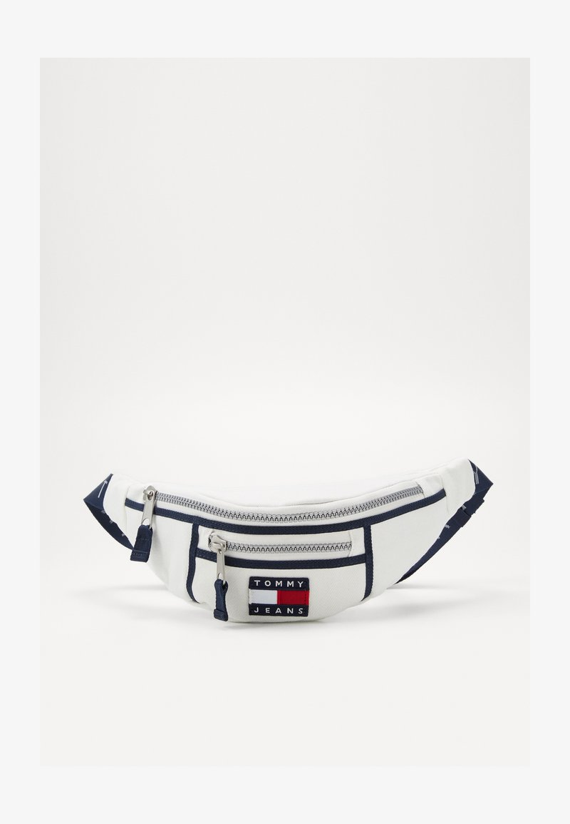 Tommy Jeans - HERITAGE BUMBAG CNVS - Bum bag - white
