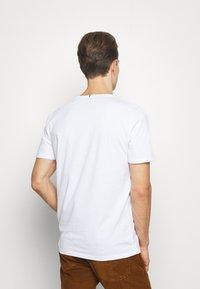 Faguo - UNISEX - Print T-shirt - weiss - 2