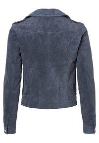 Vero Moda - Leather jacket - ombre blue - 3