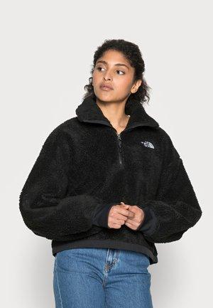 PLATTE - Fleece jumper - black