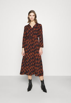 JDYMILLIAN MID CALF DRESS - Maxi šaty - arabian spice/sky captain