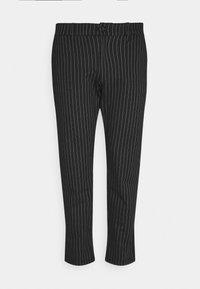 Denim Project - PLUS PONTE ROMA PLAN - Trousers - black/white - 1