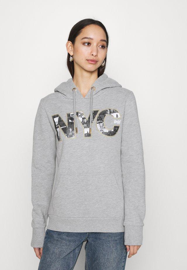 PHOTO HOOD - Sweater - grey