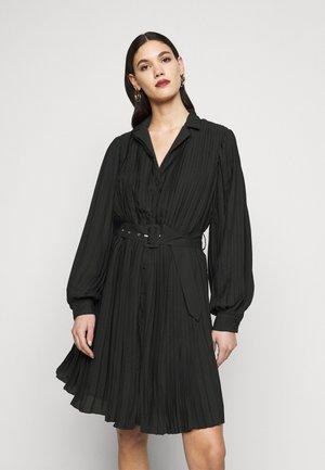 OBJCOSME SHORT DRESS  - Blousejurk - black