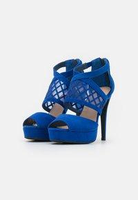 Anna Field - COMFORT - Sandaler med høye hæler - blue - 2