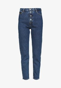 Calvin Klein Jeans - MOM - Relaxed fit jeans - dark blue stone - 3