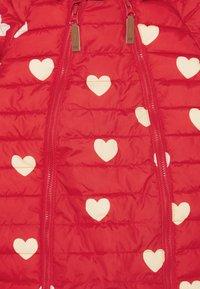 Mini Rodini - HEARTS BABY OVERALL - Combinaison de ski - red - 2