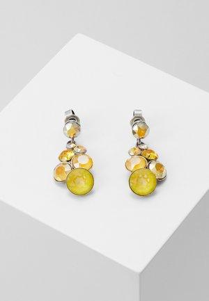 PETIT GLAMOUR - Boucles d'oreilles - yellow