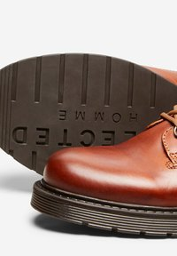 Selected Homme - Lace-up ankle boots - cognac - 5