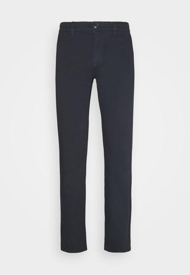 MACARL - Chino kalhoty - dark navy