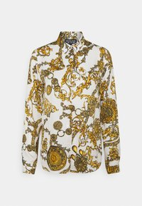 Versace Jeans Couture - SHIRT - Blouse - white/gold - 8