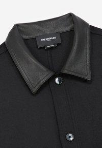 The Kooples - COL CUIR - Shirt - black - 7