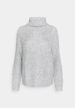 PAFFINE - Stickad tröja - hazy fog melange