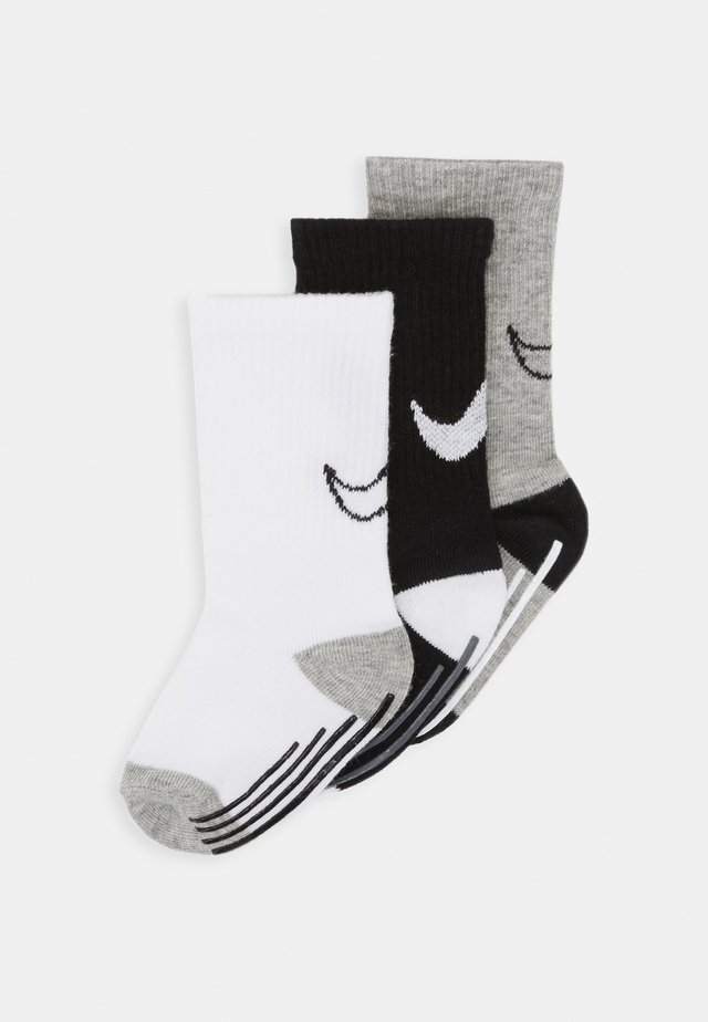 TRACK GRIPPER 3 PACK - Socks - dark grey heather