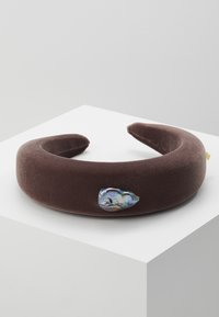 WALD - INDIRA GANDHI HEADBAND - Hair styling accessory - chestnut brown - 0