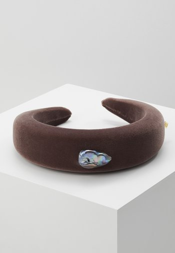 INDIRA GANDHI HEADBAND - Hair styling accessory - chestnut brown