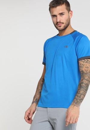 AMBITION BOMBER - Print T-shirt - bomber blue