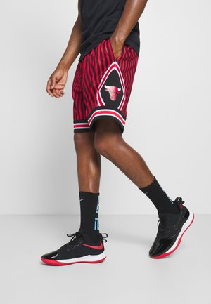 NBA CHICAGO BULLS STRIPED SWINGMAN SHORT - Short de sport - red