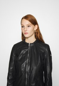 Gipsy - LASTAV - Leather jacket - black - 4