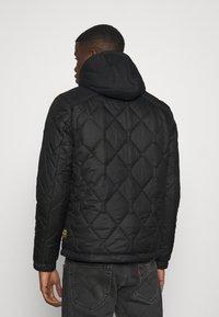 G-Star - ATTACC HEATSEAL QUILTED - Light jacket - namic heatpress padded black - 2
