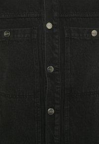 Afends - DETROITJACKET UNISEX  - Spijkerjas - washed black - 2