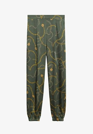 Tracksuit bottoms - verde