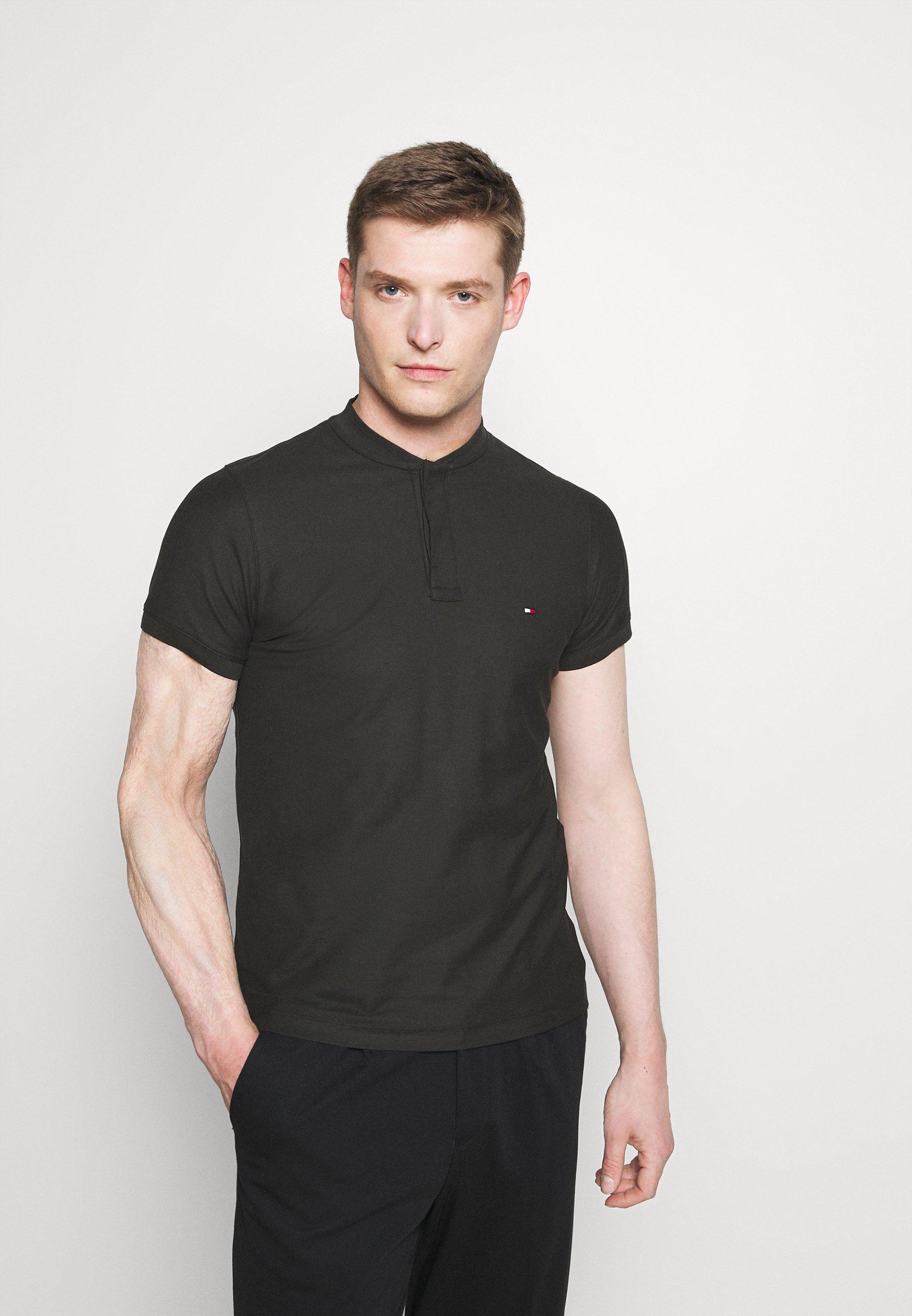 Homme BASEBALL COLLAR SLIM - T-shirt basique