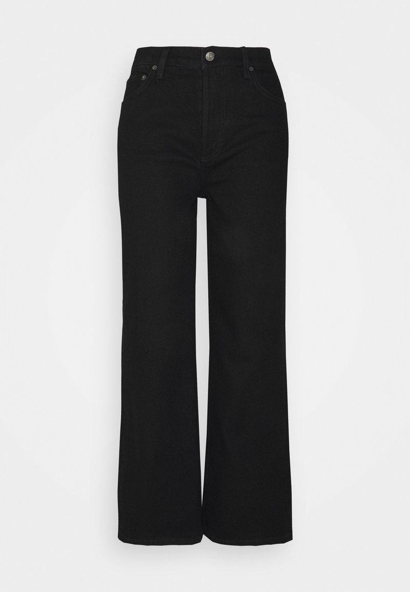 Boyish - THE MIKEY HIGH RISE WIDE LEG - Jeans baggy - black beauty