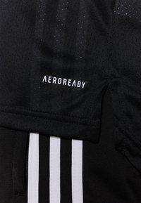 adidas Performance - Camiseta estampada - black/white - 5